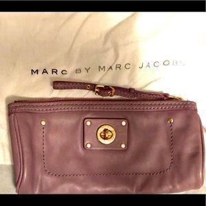 Marc by Marc Jacobs mauve clutch/ wristlet